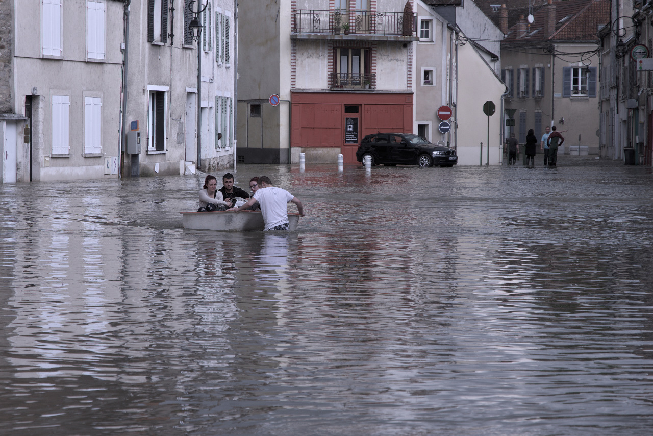 Venise à Nemours.... Inondation_02