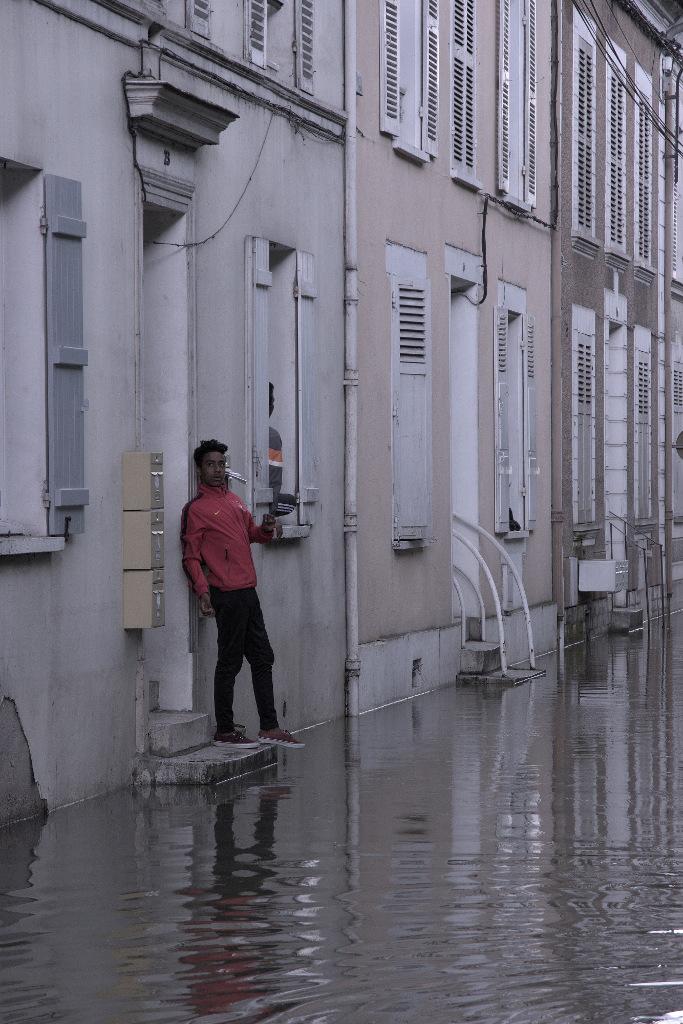 Venise à Nemours.... Inondation_03