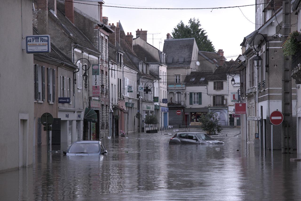 Venise à Nemours.... Inondation_04