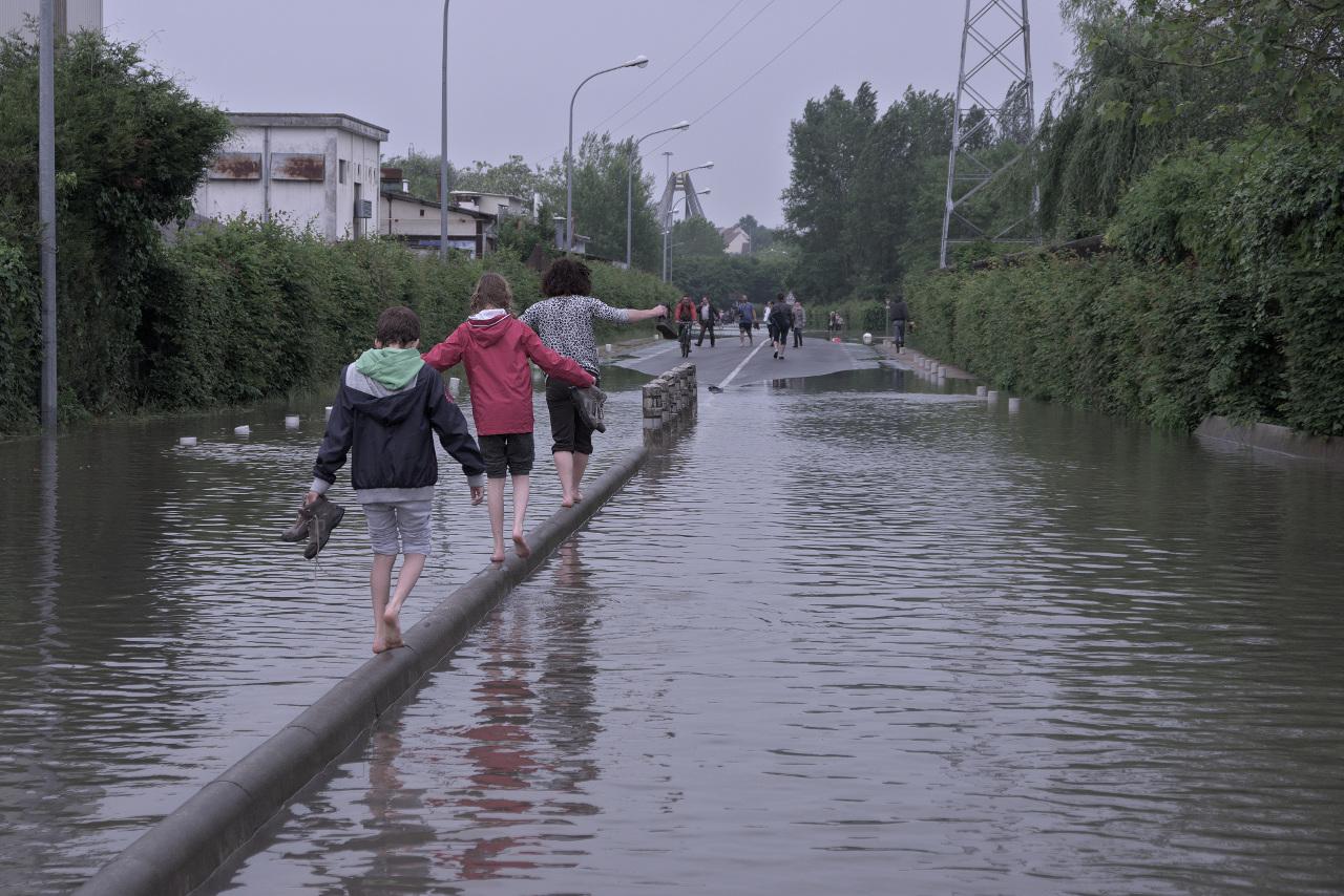 Venise à Nemours.... Inondation_09